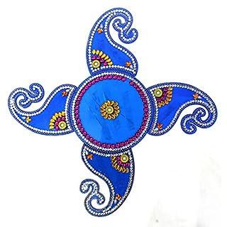 AMBA HANDICRAFT Rangoli/Home Decor/Diwali / Gift for Home/Interior Handcrafted/Floor Stickers/Wall Stickers/Wall Decoration/Floor Decoration/New Year Gift/Party. Rangoli 64