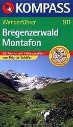 Bregenzerwald - Montafon: Wanderführer mit 50 Touren, Höhenprofilen und Wandertipps.