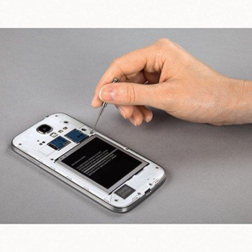 Hama Feinmechaniker Mini Schraubendreher-Set für Uhr, Brille, Modellbau, Handy, PC, Laptop (Magnetisierbar, Torque, Schlitz, Kreuzschlitz) Werkzeug-Set 13-teilig - 5