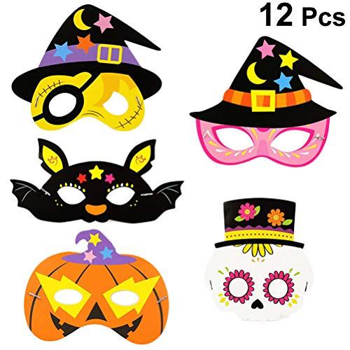 artoon Halloween Cosplay Masken Fancy Dress up Maske neuheit Halloween Cosplay kostüm für Halloween Karneval Maskerade Party Prop (Random Style) ()