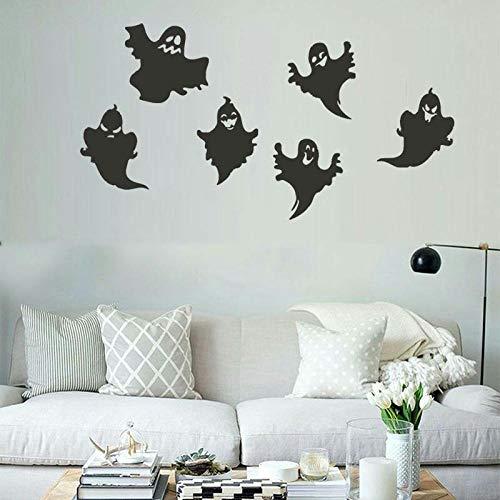 mmer Wandtattoos Diy Kinderzimmer Aufkleber Still Halloween Papier Ghost Wohnzimmer Kinderzimmer Dekoration Aufkleber ()
