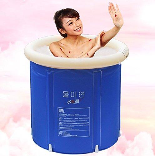 CLG-FLY faltbare Badewanne Barrel nach Badewanne aufblasbare Babywanne Badewanne Verdickung nicht-Fässer Fässer Badewanne barrel, 65 * 70 CM