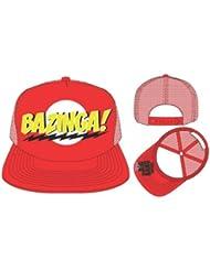 Big Bang Theory Bazinga Red Snapback Casquette de Baseball