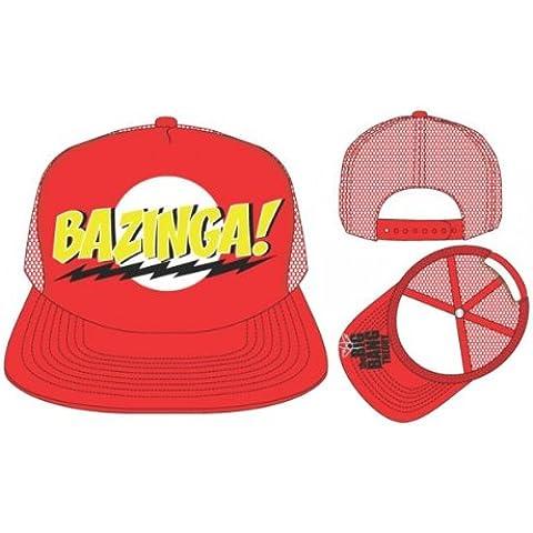 Big Bang Theory Bazinga Red Snapback Gorra De Béisbol
