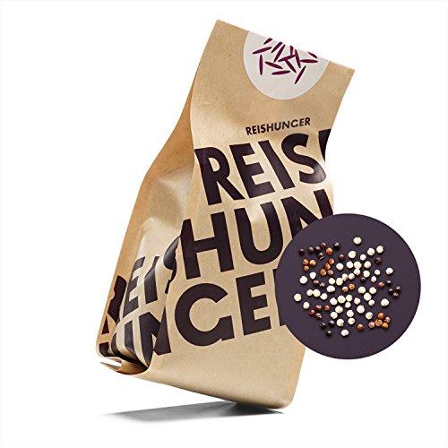 Reishunger Quinoa Mix, Weiß, Rot, Schwarz, Bio (3 x600 g) - [in allen Größen erhältlich: 200 g bis 9 kg]