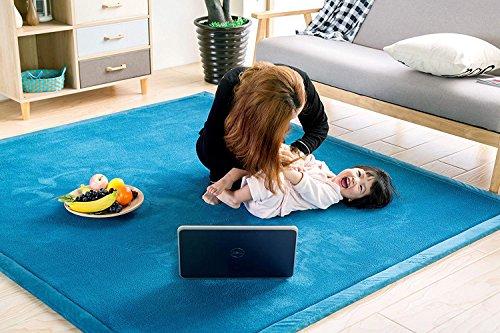 Tappeto Morbido Per Bambini : Tappeto di velluto corallo ispessimento per bambini coperta