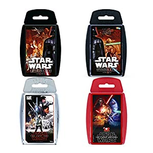 Top Trumps WM00157-EN1-6 Ultimate Star Wars Juego de Cartas
