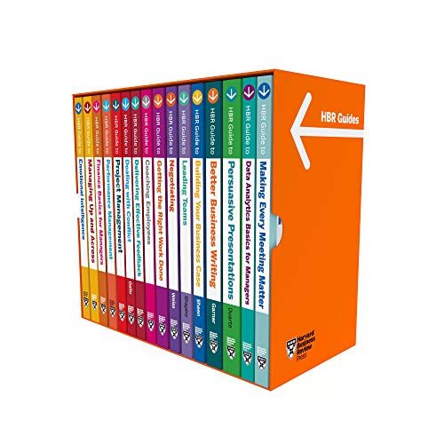 Harvard Business Review Guides Ultimate Boxed Set (16 Books) (Hbr Guide)