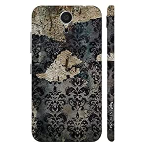 Meizu MX5 OLD GRUNGE WALL designer mobile hard shell case by Enthopia