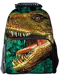 iisport 3D Animal Print Mochila Escolar Bag Infantil Multifuncional Dinosaurio