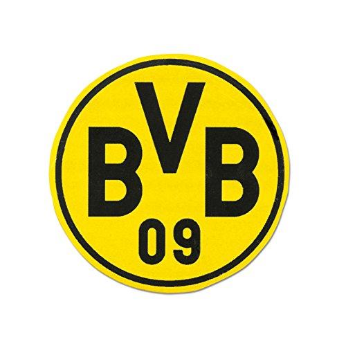 Borussia Dortmund Radiergummi, Schwarzgelb, Naturkautschuk, Ø 4 cm, BVB Emblem-Design one size