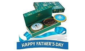 VAHDAM, Tea Master´s DUO - Bestes Tee-Geschenkset | 2 Preisgekröntes Tee-Set in Präsentationsbox | OPRAH'S FAVORITE TEE MARKENGESCHENKE - Perfekte Geburtstagsgeschenke für Männer Geschenke für Papa