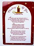 Thinking Of You at Christmas time Grave di decorazioni Memorial Remembrance