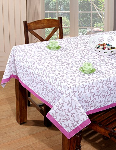 BSB Trendz Printed 6 Seater Cotton Table Cover