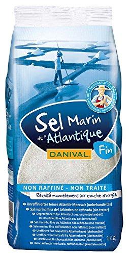 feines meersalz Danival Atlantik Meersalz fein (6 x 1 kg)