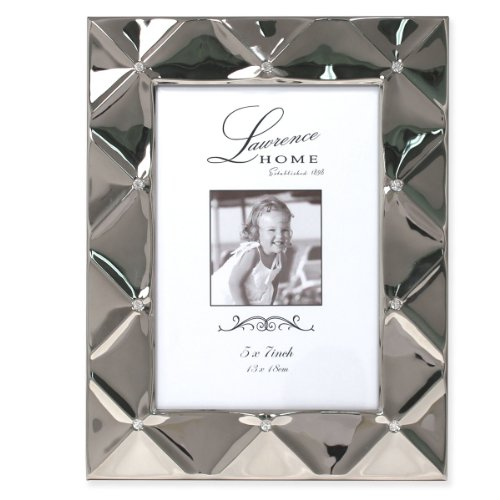Metall Matratze Frames (Lawrence Frames Kissen Metall Bilderrahmen, 5by Bluetooth, Silber)