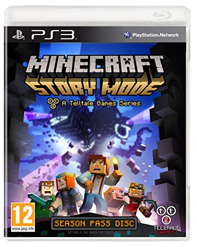 Warner Bros Minecraft: Story Mode, PS3 [Edizione: Regno Unito]