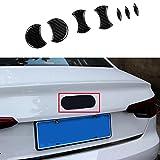 Emblem Trading Carbon Flex Optik Hintere Logo A1 A3 A4 A5 A6 A6 A7 Q2 Q3 Q5 Q7