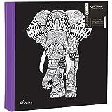 Anker Zen elefante álbum de fotos, para 200fotos 4x 6pulgadas