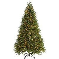 WeRChristmas Pre-Lit Regal Spruce Multi-Function Christmas Tree, 1.8 m - 6 feet with 350 LED, Green