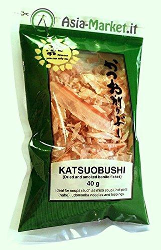 Katsuobushi (essiccato e affumicato Bonito Flakes) 40g