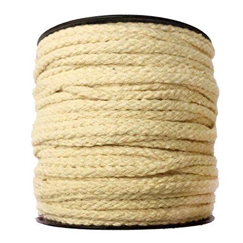 Gazechimp 4 mm Bastelschnur auf Rolle Baumwollschnur Garn Kordel Zum Basteln - Natürlich, 50 Meter (Natürliches Garn)