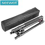 Neewer Alluminum Legierung 158 Zentimeter Kamera-Stativ mit 360 Grad Kugelkopf, 1/4 Zoll Schnellwechselplatte, Tasche für DSLR-Kamera, Video-Camcorder, Lastkraft bis zu 8 Kilogramm