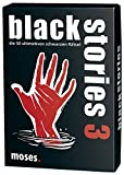 moses. black stories 3 | 50 rabenschwarze Rätsel | Das Krimi Kartenspiel