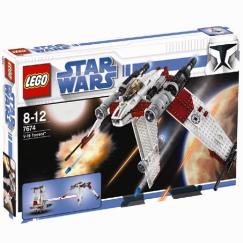 Star Wars Lego-schiffe (LEGO Star Wars 7674 - V-19 Torrent)