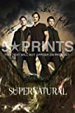 "Supernatural Poster Photo Signed PP Jensen Ackles Jared Padalecki Misha Collins 12x8"" Perfect Gift"