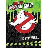 Ghostbusters Geburtstagskarte mit Melodie