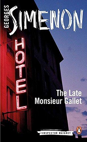 The Late Monsieur Gallet - Format B (Inspector Maigret)