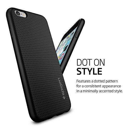 best service 7a38a febbc iPhone 6s Case, Spigen® iphone 6 case cover [Liquid Armor] [Black ...