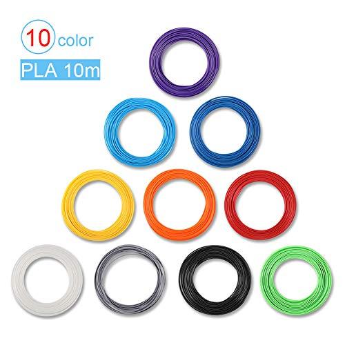 Filamento PLA 1.75 mm para Plumas 3D impresora 3D