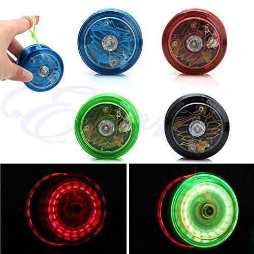 Gaxen 1PC populärer Heller YoYo Ball für Das Jonglieren-Spielzeug-Fantasie-Bewegen Blinkende LED-Farbe gelegentliches