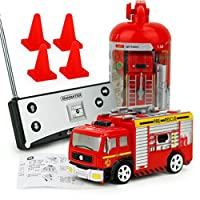 Remote Control Car , Hunpta Remote Control Car RC Rescue Fire Engine Truck Red Toy For Kids Gift
