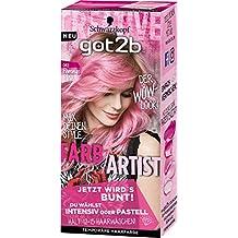 Got2b 093 Flamingo Pink Farb-Artist Haarfarbe, 3er Pack(3 x 80 ml)