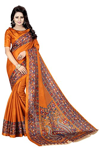 Kanchan Women's Silk Saree (KANCHAN11_Multi Coloured)