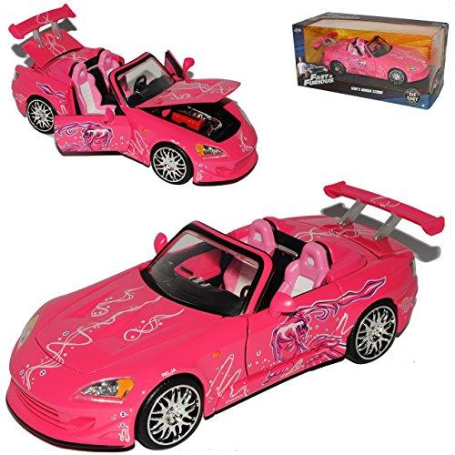 Jada Honda S2000 Pinks Sukis The Fast and The Furious 1/24 Modell Auto