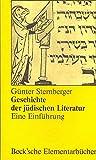 Geschichte der jüdischen Literatur: Eine Einführung - Günter Stemberger