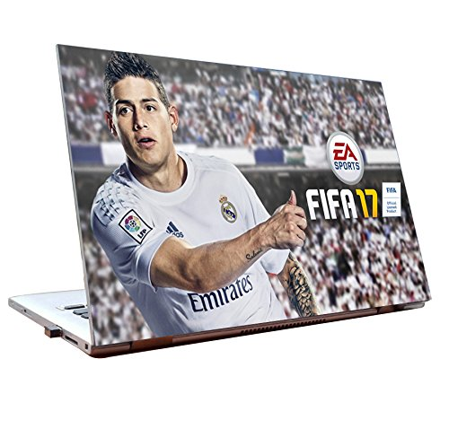 Tamatina Laptop Skins 15.6 inch - FIFA 17 - James Rodríguez - Gaming Skin - HD Quality - Dell-Lenovo-Acer-HP  available at amazon for Rs.168