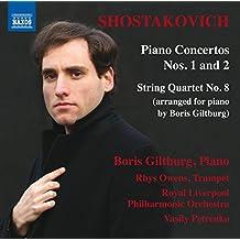 Shostakovich: Piano Concertos Nos. 1 And 2/String Quartet No. 8