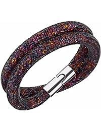 Swarovski Stardust foncé Multi–Bracelet double–5184188