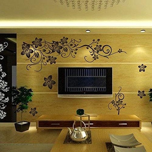 Flower Bathroom Wall Art: Amazon.co.uk