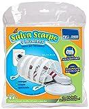 Parodi&Parodi salva scarpe e lavatrice, art. 165, sacco rete imbottito per lavatrice proteggi scarpe, spazzole, mop, misura 21x34, grazie all'imbottitura attutisce i colpi durante il lavaggio