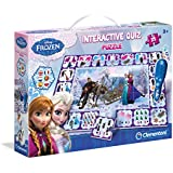 Clementoni Interactive Quiz Puzzle Frozen - Rompecabezas (240 x 330 x 60 mm)