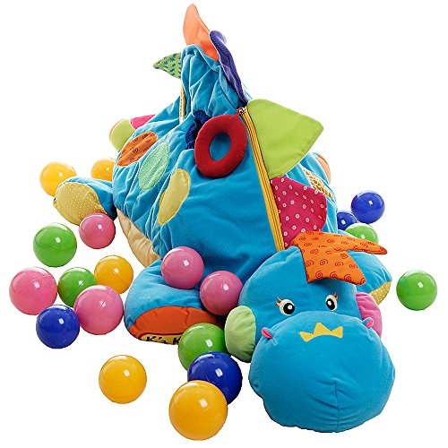 Preisvergleich Produktbild K 's Kids Kofferraumwanne, Spiele und Krabbeldecke Grand Dino von Aktivitäten I Am The Boss