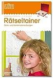 LÜK: Rätseltrainer 1 - 1. bis 3. Klasse