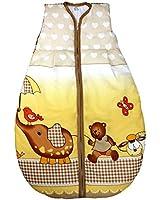 Vierjahreszeiten Schlafsack für Baby Schlafsack Baumwolle Kinderschlafsack Wattierter Babyschlafsack ohne Ärmel