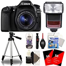 Canon Eos 80D 24.2MP Digtal SLR Camera With 18-55mm Is STM Lens, TTL Speedlite Flash And Ultimate Accessory Kit